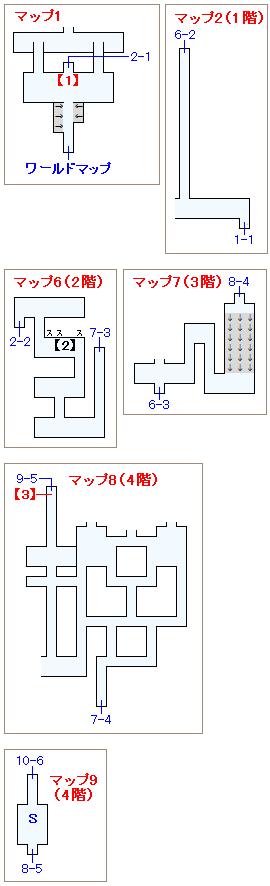 ストーリー攻略マップ・ピラミッド(1)