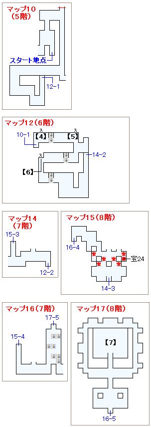 ストーリー攻略マップ・ピラミッド(2)