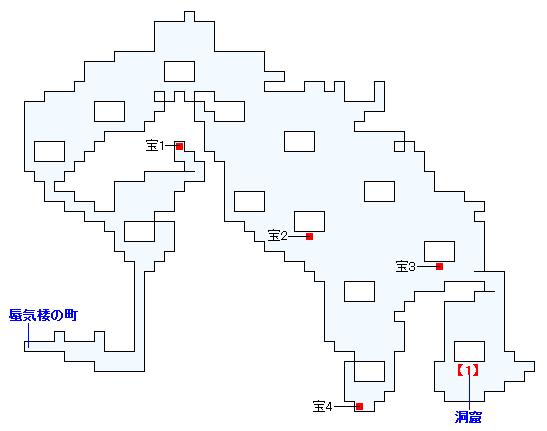 ストーリー攻略マップ・次元の狭間・森