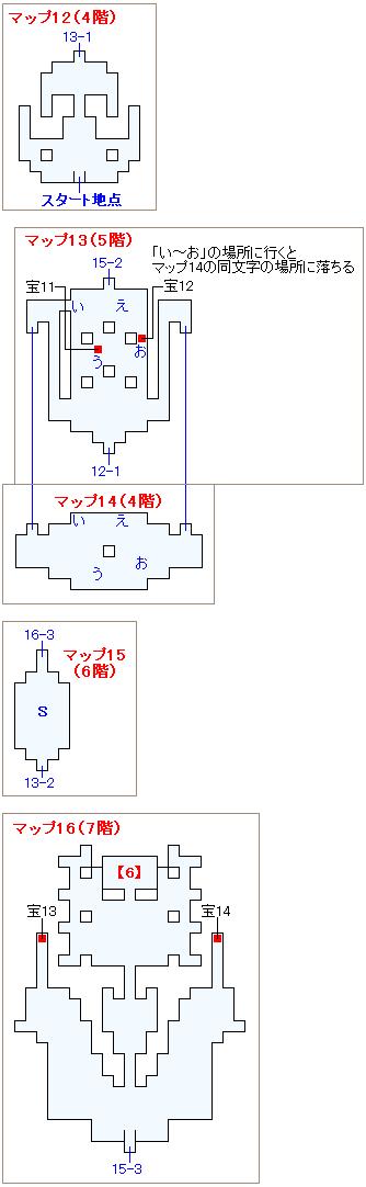 ストーリー攻略マップ・孤島の神殿(3)