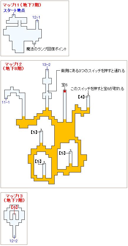 ストーリー攻略マップ・大海溝(3)
