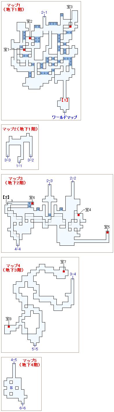 ストーリー攻略マップ・イストリーの滝(1)