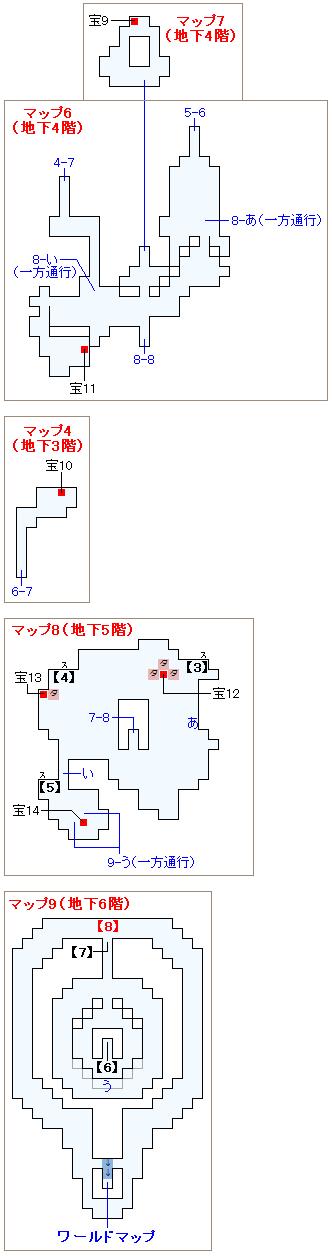 ストーリー攻略マップ・イストリーの滝(2)