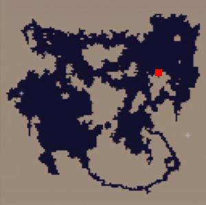 ウォルスの塔(水没)の場所(第3世界)