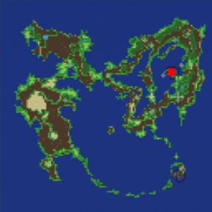 ウォルスの隕石の場所(第1世界)