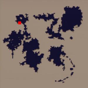 海底(海底洞窟)の場所(第2世界)
