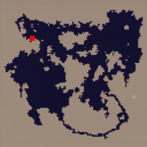 海底(海底洞窟)の場所(第3世界)