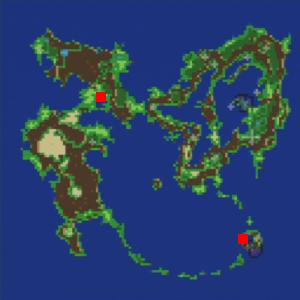 火力船の場所(第1世界)