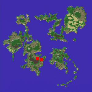 ギルの洞窟の場所(第2世界)