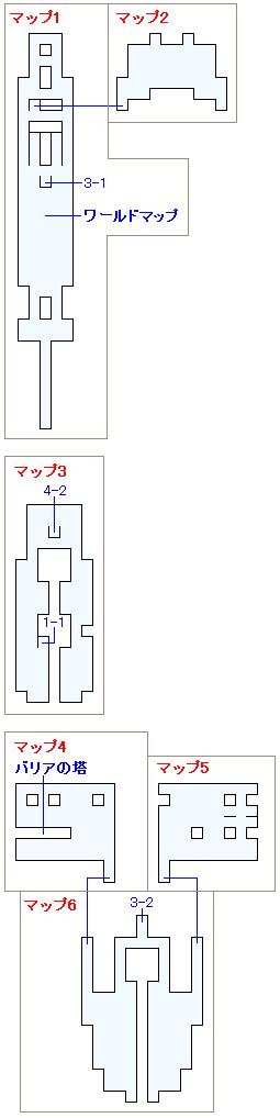 ゼザの船団のマップ画像