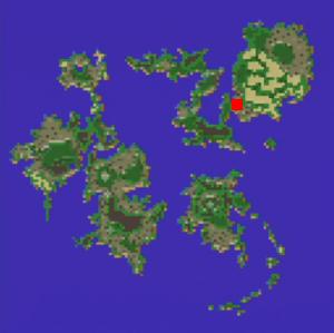 地下大河の場所(第2世界)