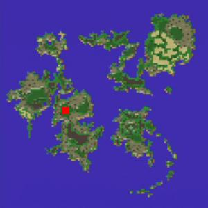 飛竜の谷の場所(第2世界)