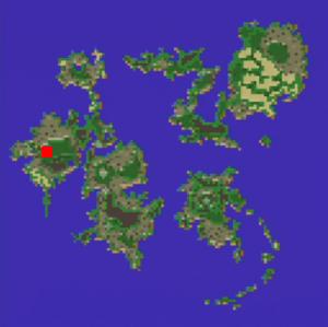 ムーアの大森林の場所(第2世界)