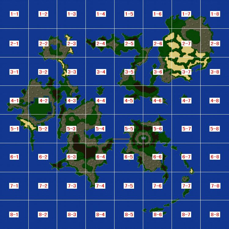 第1世界のモンスター区分画像