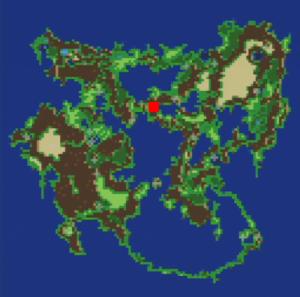 トゥールの村の場所(第3世界)