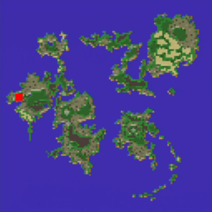 ムーアの村の場所(第2世界)