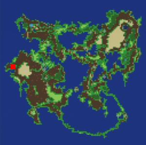 ムーアの村の場所(第3世界)