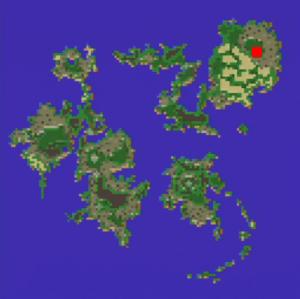 モーグリの村の場所(第2世界)