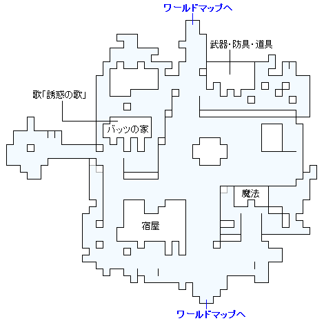 リックスの村のマップ画像