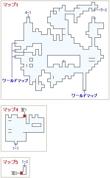 崩壊前チャート3・コーリンゲンの村マップ画像(1)