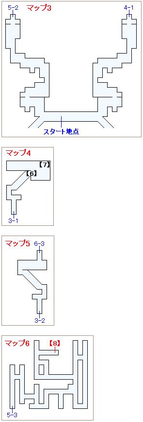 崩壊前チャート3・オペラ劇場マップ画像(3)