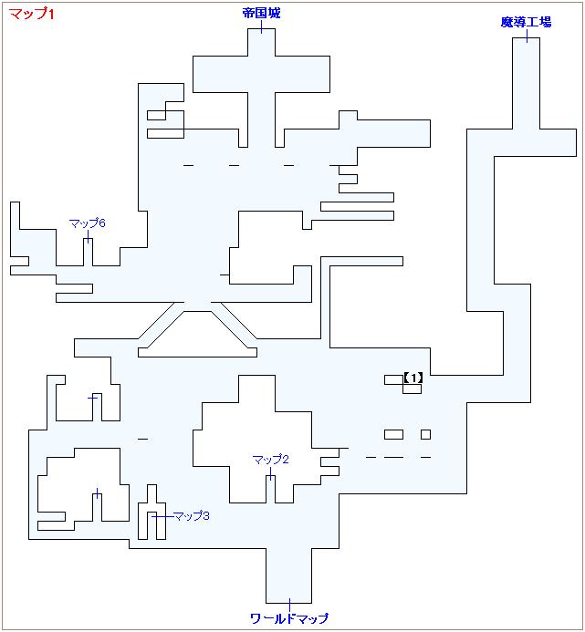 崩壊前チャート4・帝国首都ベクタマップ画像(1)