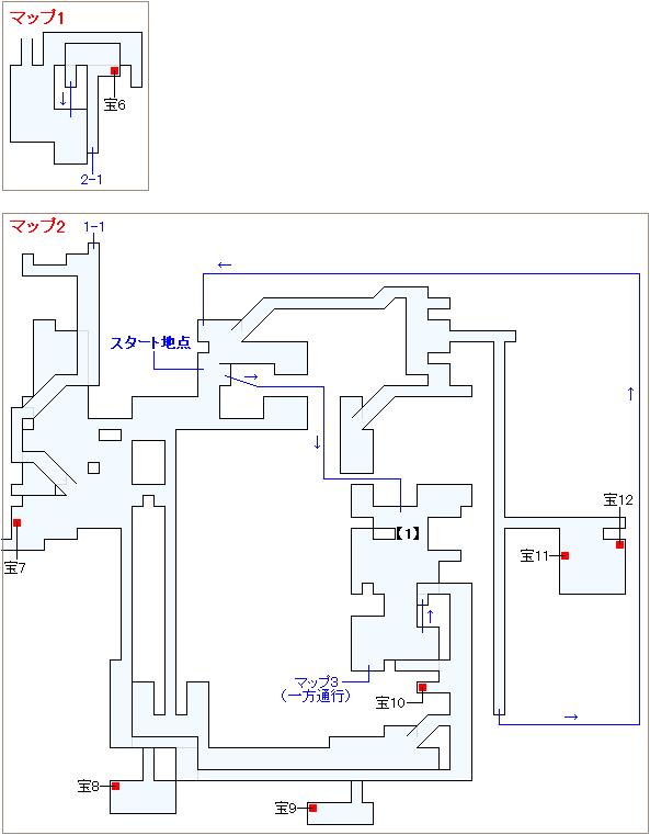 崩壊前チャート4・魔導工場マップ画像(2)