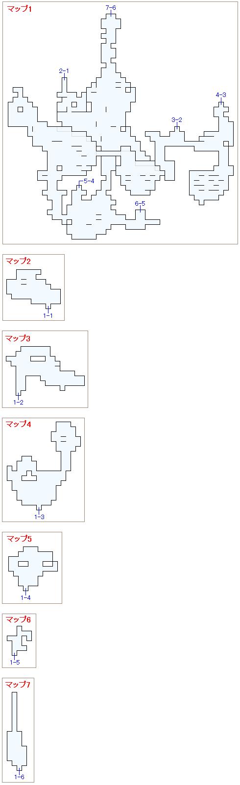 幻獣界のマップ画像