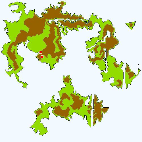 サウスフィガロの洞窟の場所(世界崩壊前)