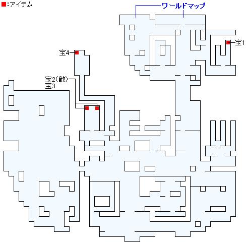 帝国軍陣地のマップ画像