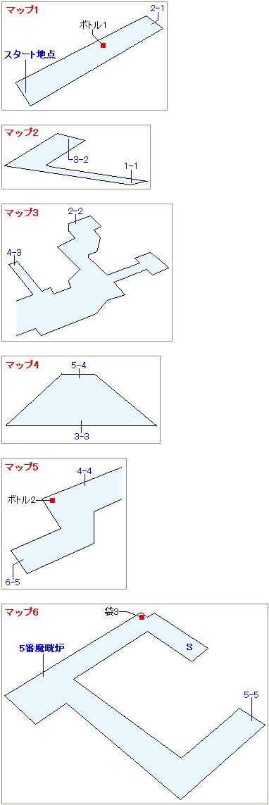 ストーリー攻略マップ・4番街プレート内部(1)