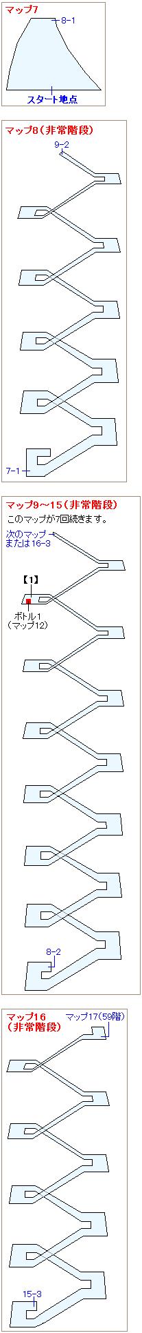 ストーリー攻略マップ・神羅ビル(3)