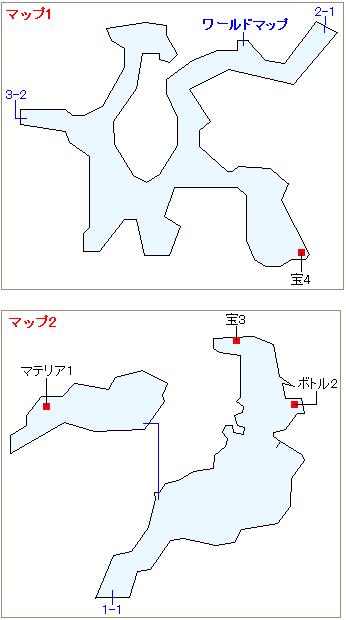ストーリー攻略マップ・ミスリルマイン(1)