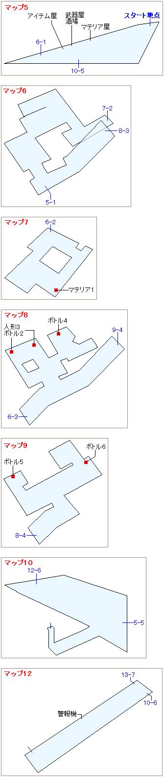 ストーリー攻略マップ・ジュノン上部(4)