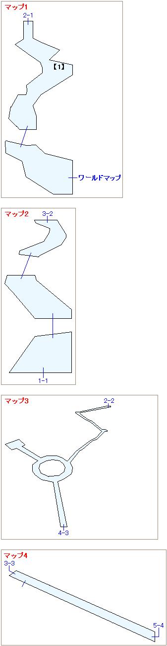 ストーリー攻略マップ・コレル山(1)