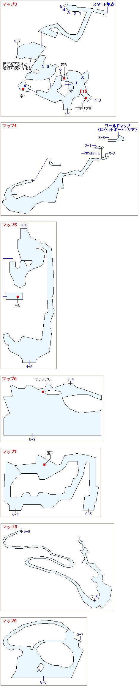 ストーリー攻略マップ・ニブル山(2)