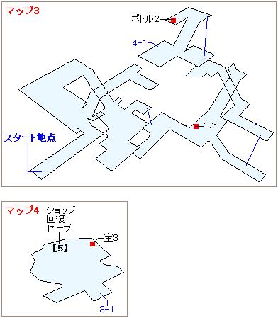 ストーリー攻略マップ・古代種の神殿(2)