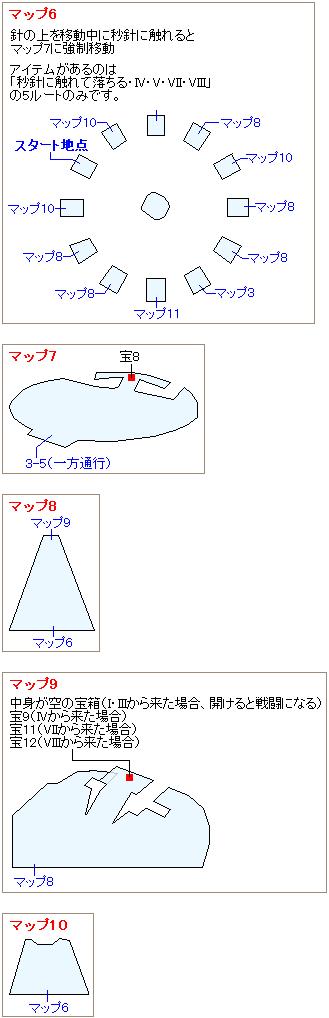 ストーリー攻略マップ・古代種の神殿(5)
