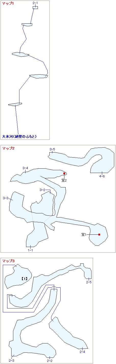 ストーリー攻略マップ・ガイアの絶壁(1)