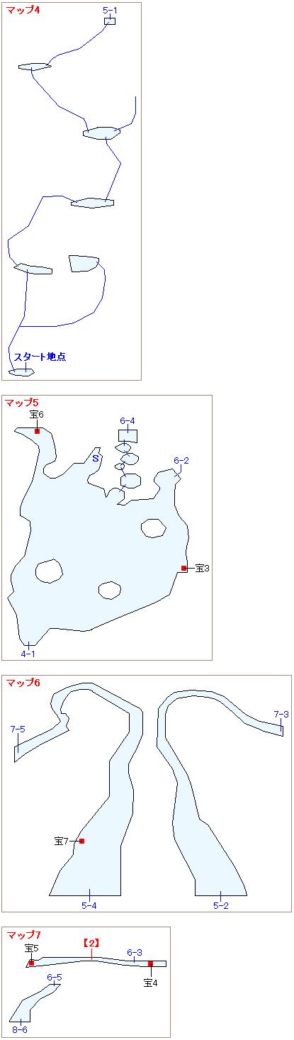 ストーリー攻略マップ・ガイアの絶壁(2)