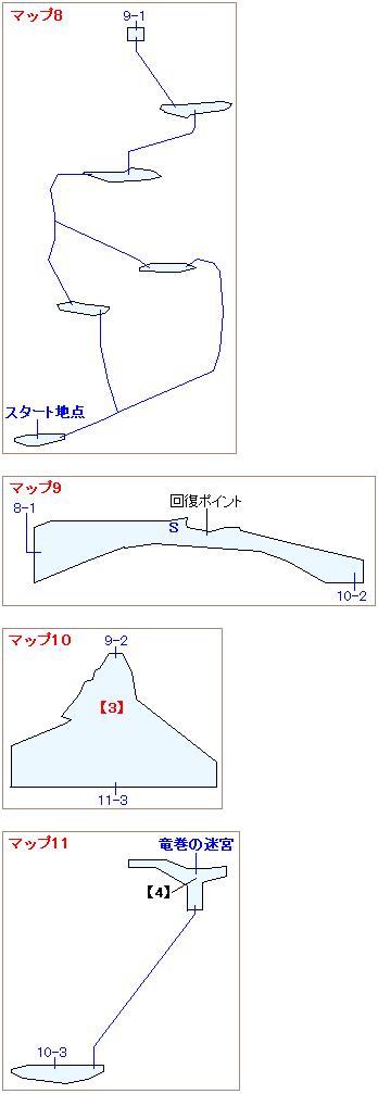 ストーリー攻略マップ・ガイアの絶壁(3)