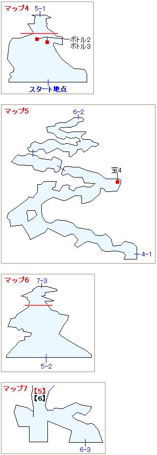 ストーリー攻略マップ・竜巻の迷宮(3)