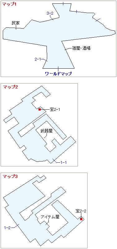 ストーリー攻略マップ・ロケット村