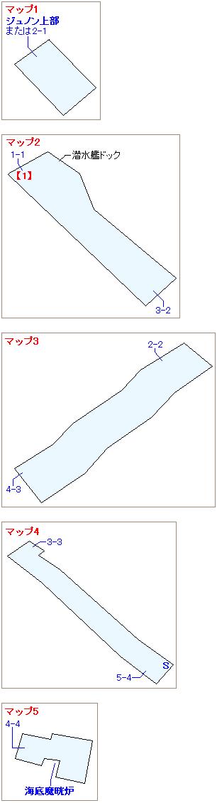 ストーリー攻略マップ・ジュノン地下(1)