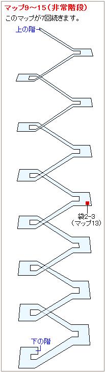 ストーリー攻略マップ・神羅ビル(2)