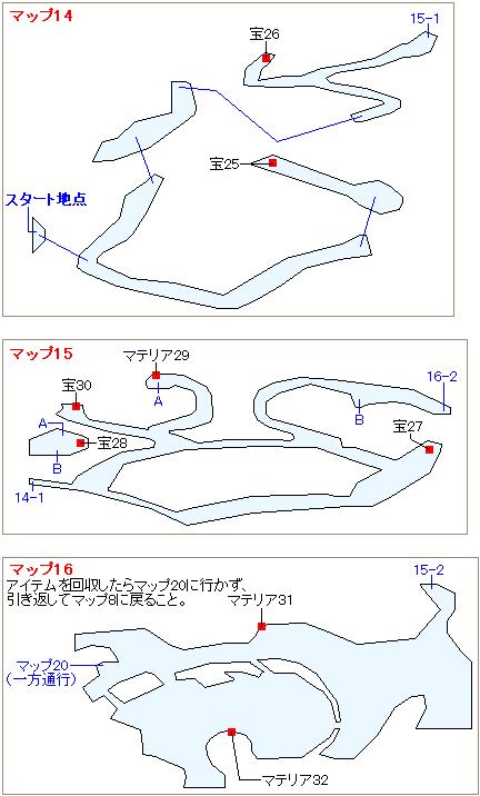 ストーリー攻略マップ・大空洞(7)