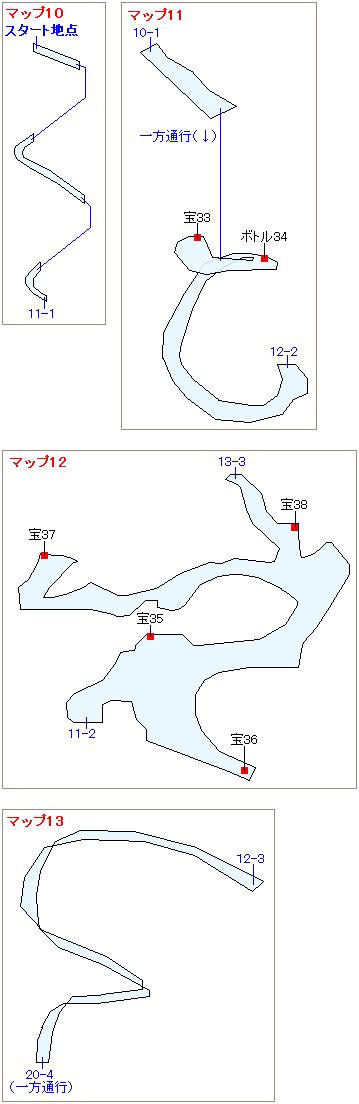 ストーリー攻略マップ・大空洞(8)