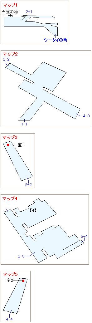 ストーリー攻略マップ・ウータイ(2)