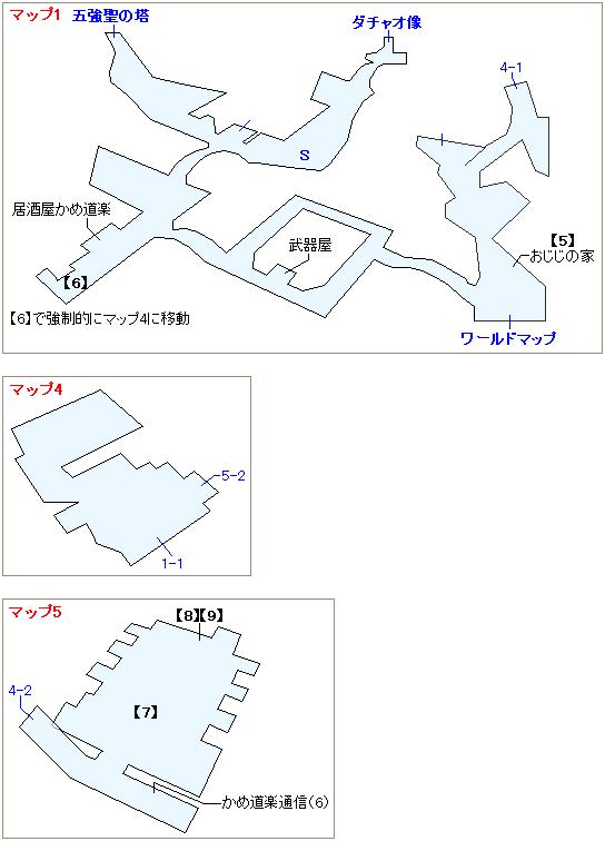 ストーリー攻略マップ・ウータイ(3)