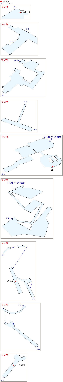 1番魔晄炉のマップ